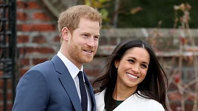 Imaginea zilei: Nunta prinţului Harry cu actriţa americană Meghan Markle, cel mai aşteptat eveniment al anului
