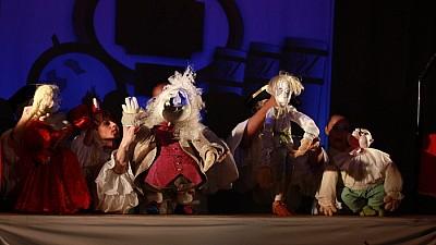 Imaginea zilei: În Spania se desfăşoară cea de-a IXX-a ediţie a Festivalului Internaţional al Teatrului de Păpuşi