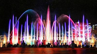 Imaginea zilei: Show impresionant de lumini și culori la Sydney