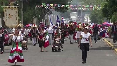 Imaginea zilei: În capitala Mexicului localnicii au sărbătorit victoria Bătăliei din Puebla