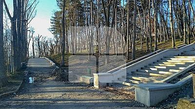 Scara din granit din Parcul Valea Morilor va fi reconstruită. Primăria Bucureşti a oferit un grant în valoare de 920.000 de euro pentru lucrările de reparație