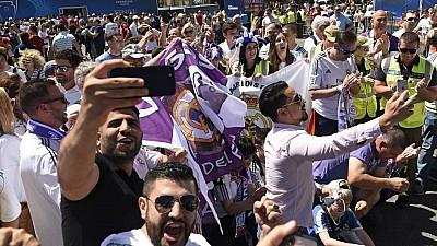 Suporterii Real Madrid, în extraz! Cum au sărbătorit microbiștii victoria campioanei