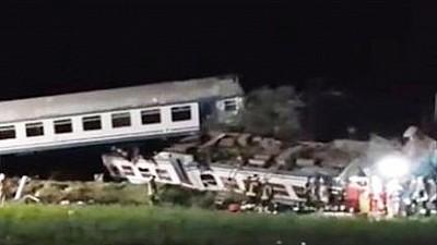 Tragedie feroviară în Italia. Un tren de pasageri a deraiat de pe şine. Cel puţin doi oameni au murit, iar 20 au fost răniţi