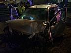 Accident TRAGIC în Capitală. Un bebeluş şi-a pierdut viaţa, după ce tatăl său a urcat băut la volan şi a intrat cu maşina într-un panou publicitar