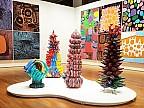 Imaginea zilei: Lucrările controversatei artiste Yayoi Kusama au fost expuse într-un muzeu din Indonezia