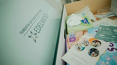 Campania O nouă viaţă a Fundaţiei Edelweiss a ajuns la maternitatea din Ceadâr-Lunga. Ce au primit în dar proaspetele mămici