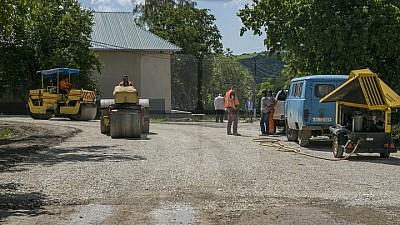 În raionul Sângerei se vor repara 30 de drumuri locale