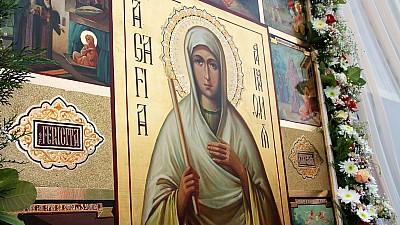 Sărbătoare la Cuşelăuca. Creştinii ortodocşi din ţară o cinstesc pe Sfânta Agafia