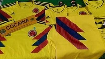 Tricouri ale selecţionatei Columbiei, impregnate cu cocaină la Cupa Mondială 2018