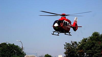 Спасительный полет. Маленького пациента отправили в Бухарест на вертолета