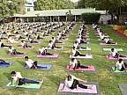 Imaginile zilei: Peste 35 de mii de persoane din India au sărbătorit Ziua Internațională a Yoga
