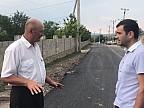Drumul din Vărvăreuca, inspectat de Chiril Gaburici. Ce a discutat ministrul Economiei și Infrastructurii cu reprezentanţii companiei care repară tronsonul