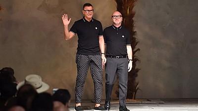 Celebrele case de modă Dolce&Gabbana şi Georgio Armani şi-au prezentat colecţiile de primăvară-vară la Săptămâna Modei de la Milano