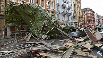 Furtuna Fabienne a făcut prăpăd în centrul şi sudul Germaniei. O persoană a murit, iar un copil de doar patru ani a fost grav rănit, după ce au căzut arbori peste ei