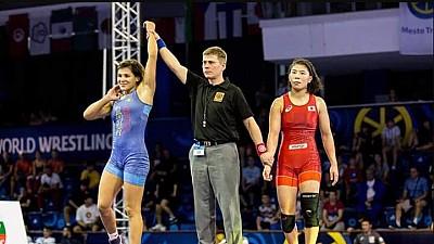 Anastasia Nichita, campioană mondială! Luptătoarea a cucerit medalia de aur în Slovacia