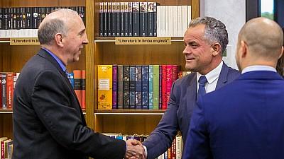 Vlad Plahotniuc și James Pettit s-au întâlnit într-o vizită de rămas bun. Ambasadorul SUA la Chișinău își încheie misiunea diplomatică în țara noastră