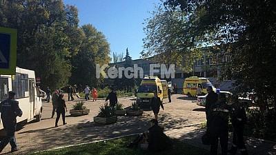 Zi de DOLIU în oraşul Kerci din Crimeea. 21 de persoane au murit, iar alte 37 au fost internate în spital, după atacul armat comis la Colegiul Politehnic