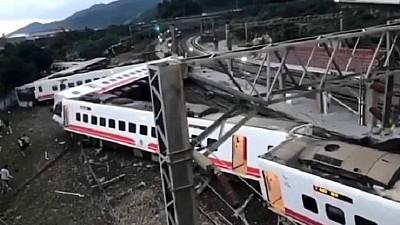 Accident feroviar TRAGIC în Taiwan. 17 persoane au murit, iar peste 130 au fost rănite, după ce trenul în care se aflau a deraiat