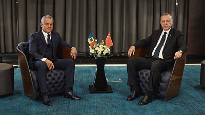 Vlad Plahotniuc și Recep Erdogan au discutat despre relaţiile politice, strategice şi economice de cooperare regională dintre Moldova și Turcia