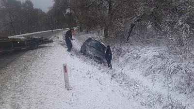 Prima ninsoare în Moldova: S-au produs cel puţin 12 accidente de circulaţie, iar 13 persoane au fost rănite