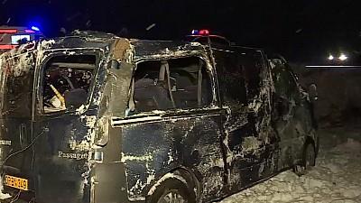 Accident în apropiere de satul Suruceni. O femeie a ajuns la spital, după ce maşina în care se afla s-a răsturnat într-un şanţ