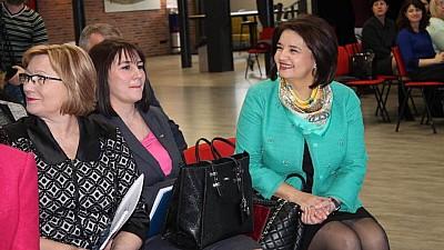Monica Babuc s-a întâlnit cu cei mai buni pedagogi din Moldova. Aceștia au venit cu propuneri pentru modernizarea sistemului educaţional