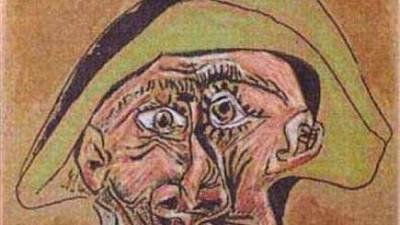 Farsă de dragul artei. Doi producători belgieni au ascuns copia picturii Cap de Arlechin a lui Picasso într-o pădure din România