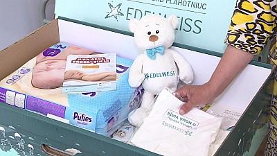 Campania O nouă viaţă a Fundaţiei Edelweiss a ajuns la maternitatea din Cahul. Ce au primit în dar proaspetele mămici