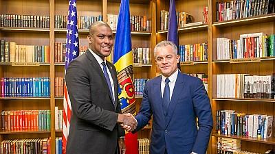 Dereck Hogan, la întânirea cu Vlad Plahotniuc: Parteneriatul dintre SUA şi Republica Moldova este bazat pe încredere