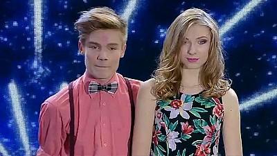 Moldova Are Talent -Anastasia Budanova și Eugeniu Burlac